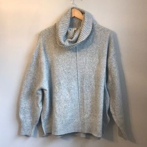 H&M Cowl Neck Oversized Sweater -Large